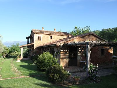 Photo for Restored traditional house with private pool and overlooking the valley of Tiétar
