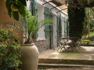 Photo for Lovely holiday home, close to the beach at Hyères.
