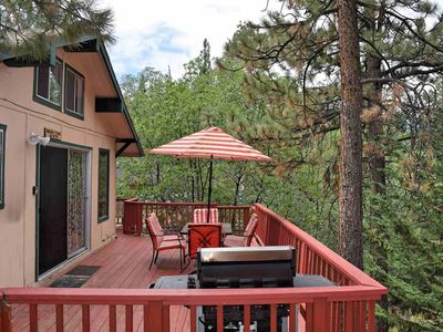 Photo for Birdsong Terrace: Views! Near Bear Mtn! Two Living Spaces! Large Deck! BBQ! Cable! Internet!
