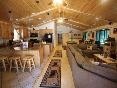 Photo for Open Floor Plan, Perfect for Large Families, Friends, Pets &  Disabled Accessibl