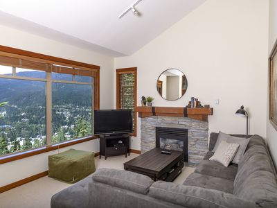 Photo for Spectacular Views / Ski in/out at Bluffs Taluswood 6 by Holiday Whistler