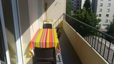 Photo for welcome to Marie apartment. 3 bedrooms 6 people 90 m2 rodez Occitanie