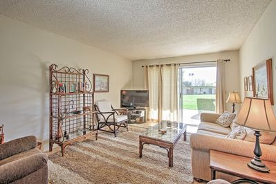 Borrego Springs awaits your arrival at this sunny vacation rental condo!