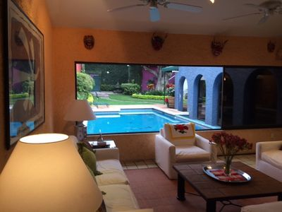 Photo for Indoor/Outdoor Living in Beautiful Cuernavaca Neighborhood