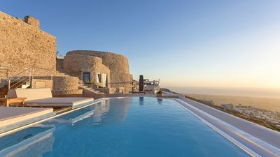 Photo for BEYOND WORDS. CAMINO 2 BEDROOM LUXURY HOUSE WITH AMAZING VIEWS FROM ITS INFINITIVE POOL.