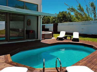 Photo for Brand new double luxury villa Cocoon, private pool, big yard, serenity
