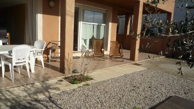 Photo for rarely very nice apartment 110m2 comfortable two steps from the sea