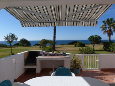 Photo for Villa Anastasia on the seafront with stunning sea views
