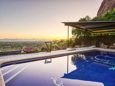Photo for 🌆😍Villa on top of Camelback Mountain! Game Room and a Pool with Views!😍🌆
