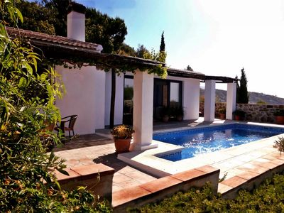 Photo for Villa Mexicana. Peace,  Privacy and Pool with Coast Nearby.