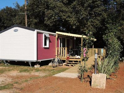Photo for Camping Domaine de Gajan **** - Mobile home PMR Life 3 Rooms 4/6 People