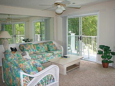 Photo for 2 Bedroom, 2 Bath, Full Kitchen, 27 hole Golf Course on site. Sunset Beach nearby(1409)