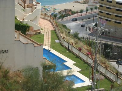 Photo for Gorgeous  Sea View Penthouse in Carvajal, 3 mins Walk to the Beach, WiFi