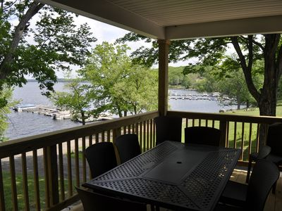 Photo for Lakefront Vacation Home On Lake Wallenpaupack