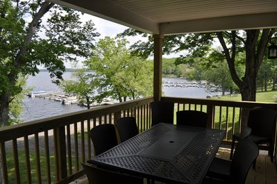 Deck w/lake view