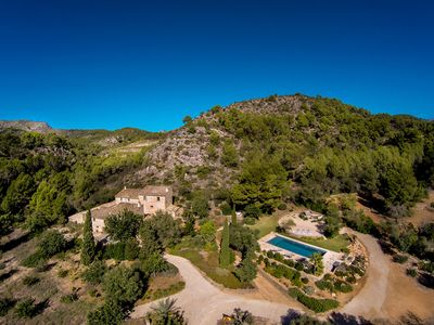 Photo for MAGNIFICENT 6BR - 6.5BA FINCA WITH STUNNING POOL JUST MINUTES TO PORT D'ANDRATX!