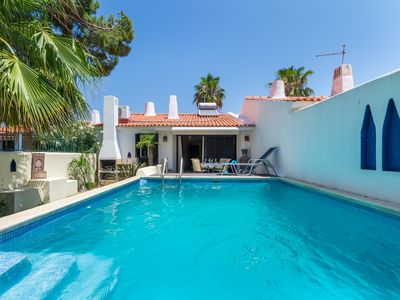 Photo for Casa Medina 2 bedroom with private pool Vilamoura walking distance to all
