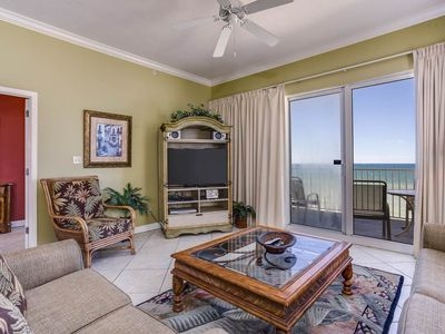 Photo for Wonderful Gulf Front 4 bedroom unit 805 at Marisol!