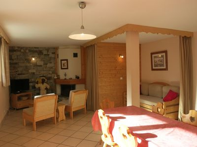 Photo for NICE APARTMENT OF 78 M² NEAR THE SLOPES SOUTH FACING - CHALET SILENE