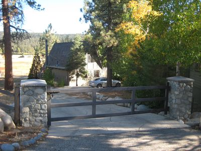 Photo for Classic Lakefront Cabin, with dock located in Metcalf Bay, Big Bear Lake, Ca.