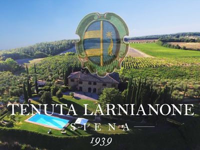 Photo for Panoramic Villa with private pool, a few km from Siena, Tuscany