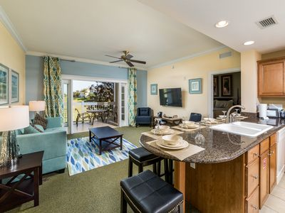 Photo for Stunning Views! Luxury Condo with Games Console in Exclusive Reunion Resort