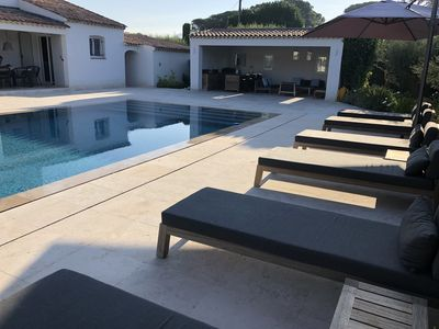 Photo for Beautiful Villa with very nice pool at Plan de la Tour