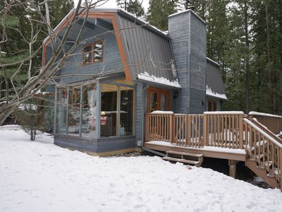 Photo for Picturesque Ski Cabin In The Woods
