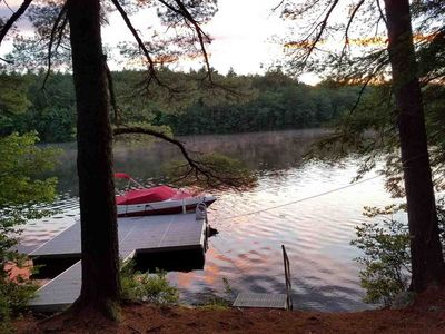 Photo for Loon Lodge - Picturesque Lakefront Property