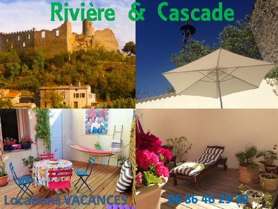 Photo for HOLIDAYS IN THE CORBIERES..IN THE FOOT OF THE RIVER -Charmant. & Relaxing