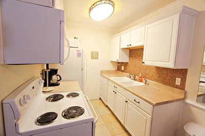 Enjoy cooking in the updated kitchen.
