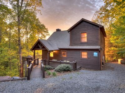 Photo for LOGGIN OUT!!!  CABIN-VIEW-VACATION IN STYLE!!