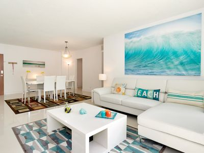 Photo for Great Condo Ocean Front in Hollywood Beach - 2 Bedrooms