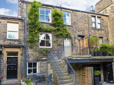 Photo for THE OLD FORGE, luxury holiday cottage in Haworth, Ref 14036