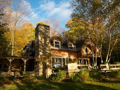 Photo for Lake Memphremagog Private Country Estate      On the lake facing the sunset