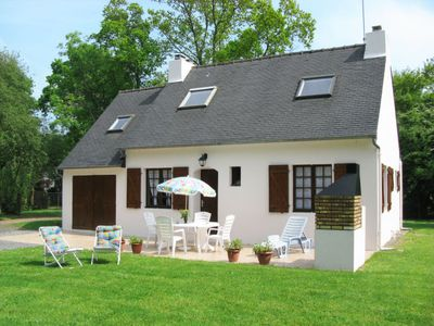 Photo for Vacation home La Horvée (MRX100) in Morieux - 6 persons, 3 bedrooms