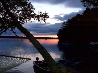 Photo for Gorgeous Sunsets, Charming, Quiet, Waterfront, Close to town