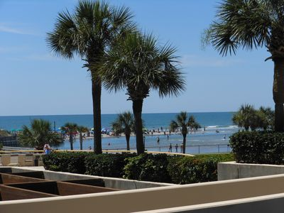 Photo for Ocean View 3BR/3BA! 2 King Beds-New Kitchen-1st Floor+Beach Locker! Great Rates!