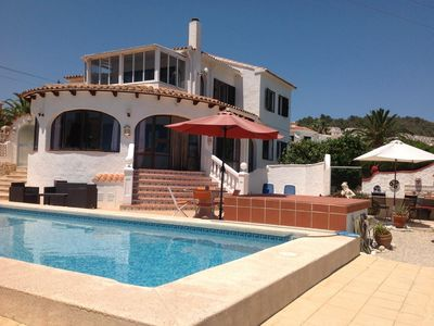 Photo for Casa Chloe Luxury Villa with WIFI private pool panoramic sea views Sleeps 6/7/8