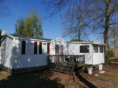 Photo for Immobilhome on Camping 4 * Atlantic Park E141