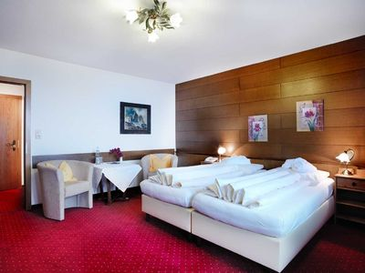Photo for Comfort Double Room with Balcony and View - Hotel Habhof