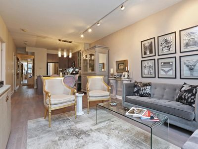 Photo for Heart of Yorkville One Bed plus Den