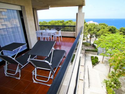 Photo for PLAYALARGA with sea views, Capellans beach