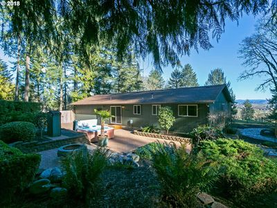 Photo for New rental- three bedroom, two bath on paved road near town and wineries