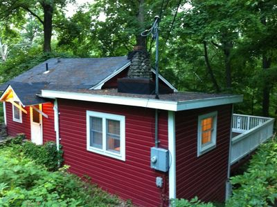 Photo for Charming Swedish Cottage in the Woods - Washingtonville & West Point