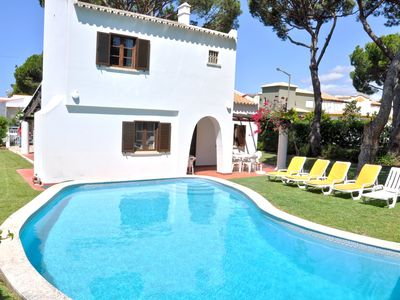 Photo for Private pool 2 bed villa, Walking distance to the centre, Golf facing