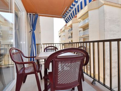 Photo for Torredembarra Apartment, Sleeps 4 with Air Con and Free WiFi