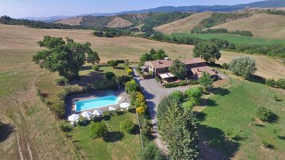 Photo for Cottage with spa in the heart of Val D'Orcia, in Pienza