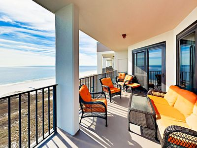Photo for 3BR Direct Beachfront Condo w/ Resort Pools & Hot Tubs - Steps to Beach