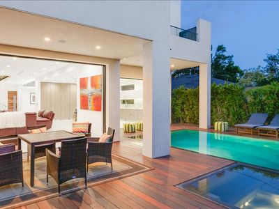 Photo for Modern Chic With Entertainer's Yard, Beautiful Pool and Three Private Balconies